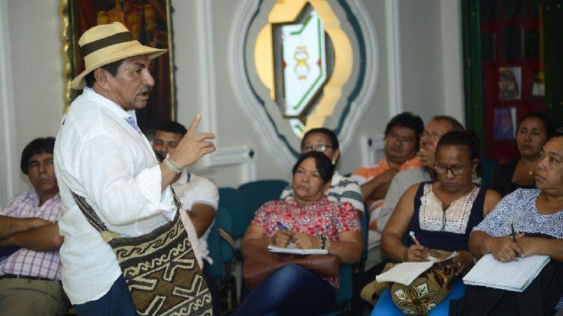 Los Mokaná se forman como etnoeducadores en la universidad Simón Bolívar