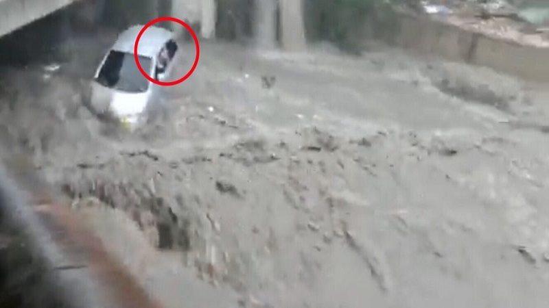 Madeleine García sacó la cabeza por la ventana del carro y pidió auxilio
