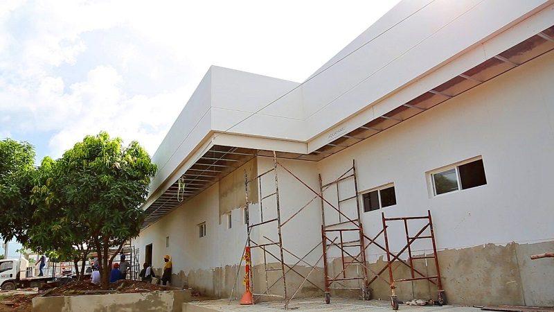 Obras de ampliación en hospital de Candelaria están en su fase final
