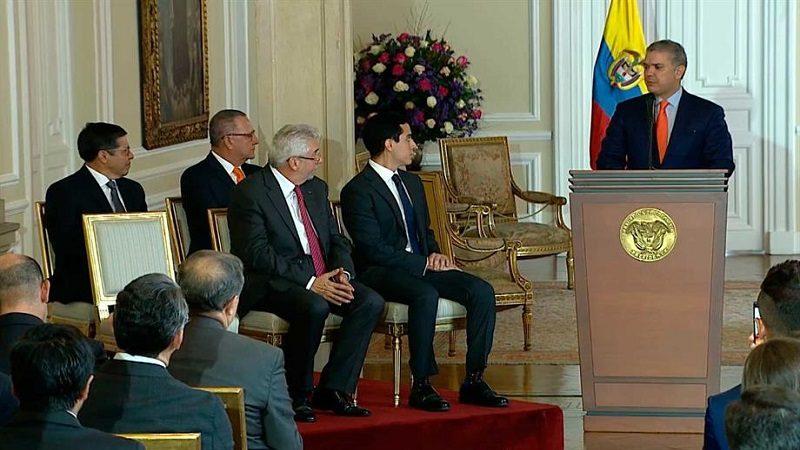 Presidente Duque posesionó a Embajadores de Colombia en Alemania, Canadá, Guatemala y Ecuador