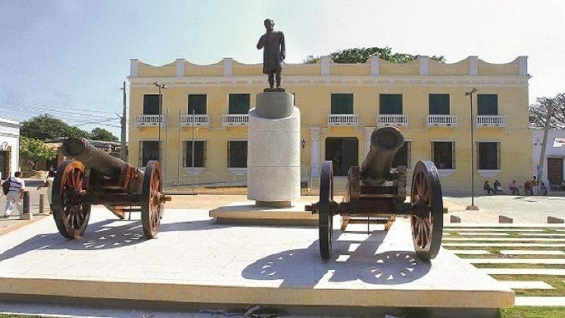 Proyecto de ampliación de la Plaza Central de Soledad avanza a buen ritmo
