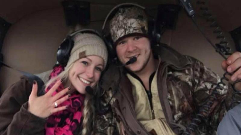 Recién casados mueren al caer en helicóptero rumbo a su luna de miel