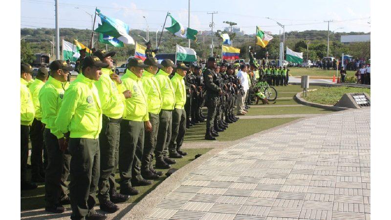 Refuerzan seguridad en Barranquilla para la temporada de navidad, fin de año y Reyes
