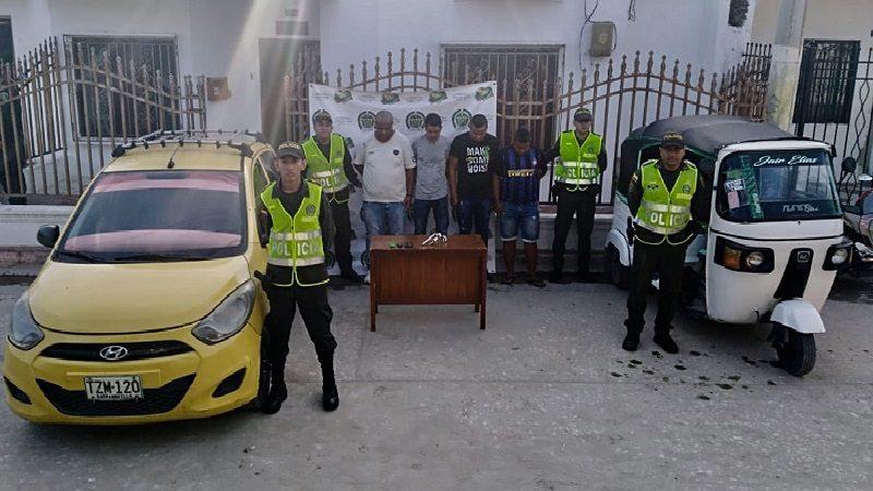 Se robaron un motocarro en Malambo y Policía los capturó en Soledad