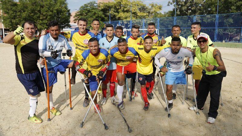 Selección Colombia de Fútbol de Amputados clasificó a octavos de final
