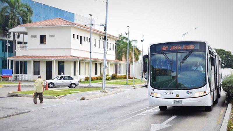 Transmetro operará con 8 buses adicionales de la ruta R1 al finalizar partido Junior - Águilas Doradas