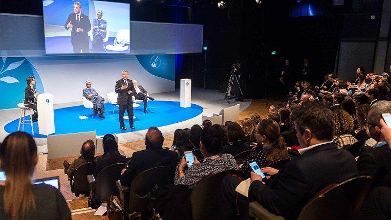 presidente Duque a líderes empresariales franceses