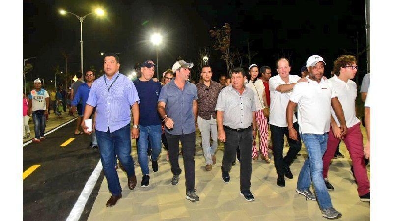 Alcaldía entrega otros 400 metros lineales del Gran Malecón del Río en Barranquilla