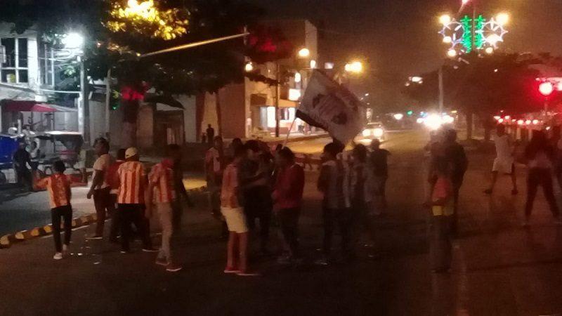 Atacan bus de Transmetro en Soledad