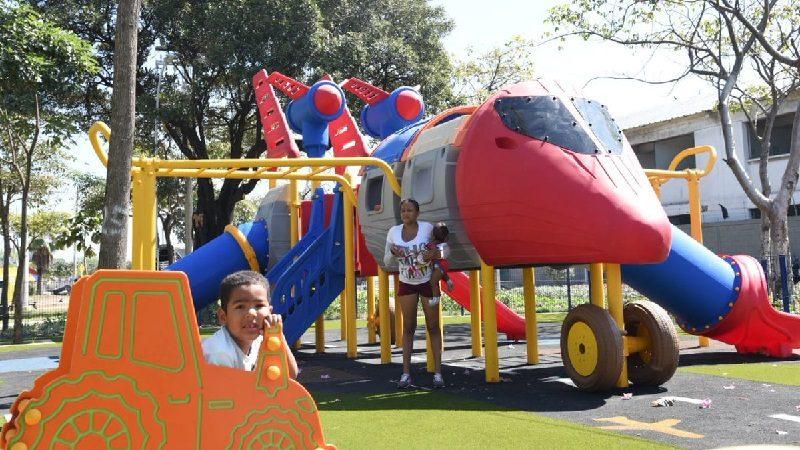 Barranquilla ya tiene parque de la Aviación, en el barrio Simón Bolívar