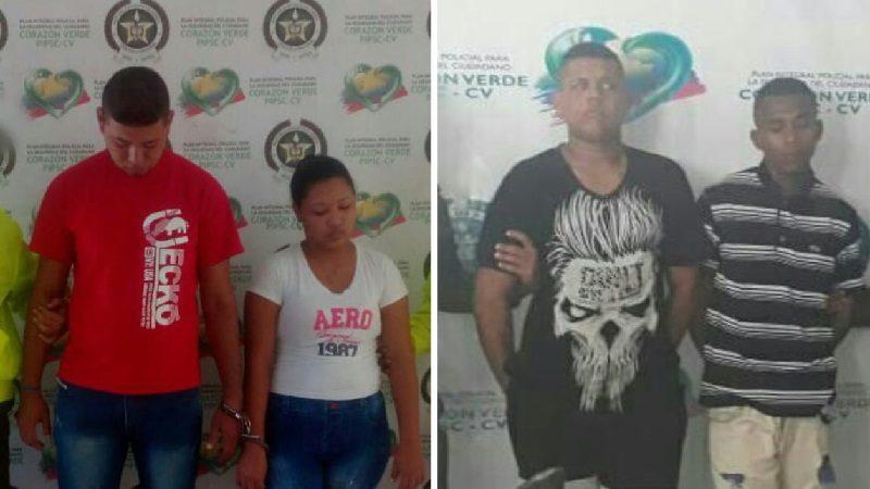 Capturan a cuatro ladrones en Malambo y el barrio Las Malvinas de Barranquilla