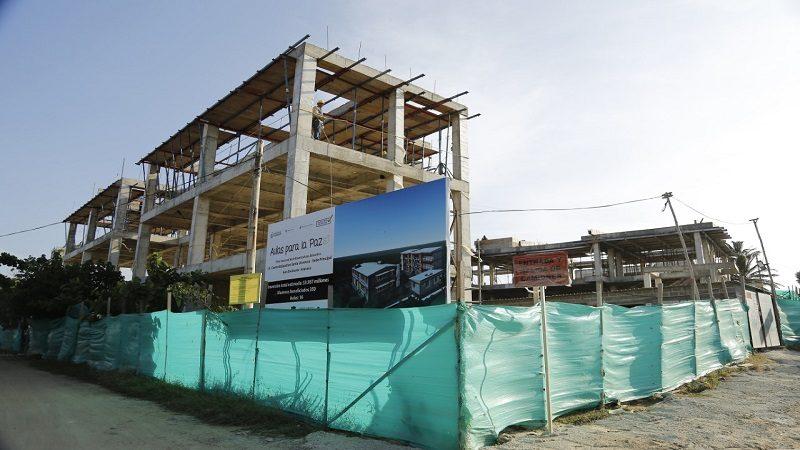 Centro Educativo de Santa Verónica tiene 63% de avance en sus obras