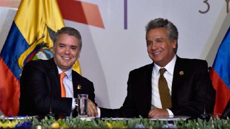 Colombia y Ecuador lanzan nueva etapa en sus relaciones bilaterales