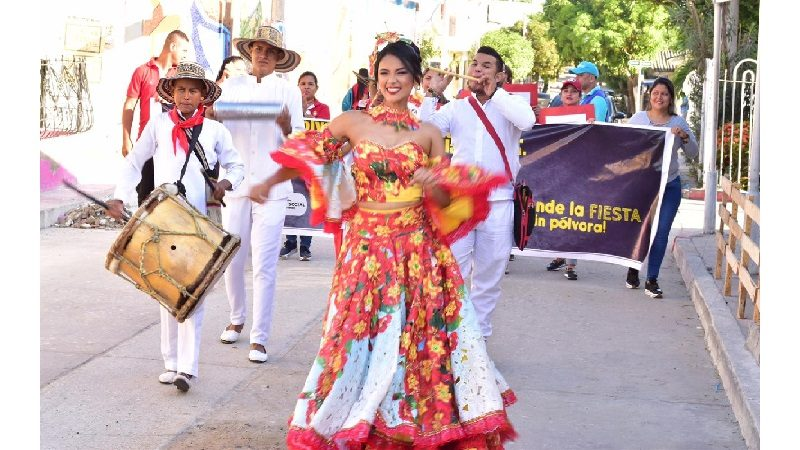 Comienza campaña 'Prende la Fiesta Sin Pólvora', en el municipio de Malambo