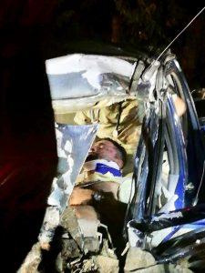 Dos heridos deja aparatoso accidente de tránsito en la vía Cordialidad 1