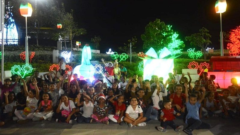 En el Malecón del Río, se vive y se siente la Navidad