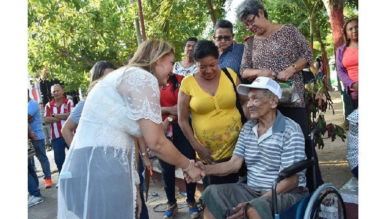 Entregan ayudas técnicas a personas con discapacidad, en el municipio de Malambo