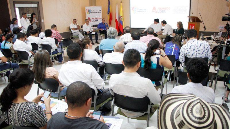 Gobernación del Atlántico fortalece apoyo a emprendimientos sociales