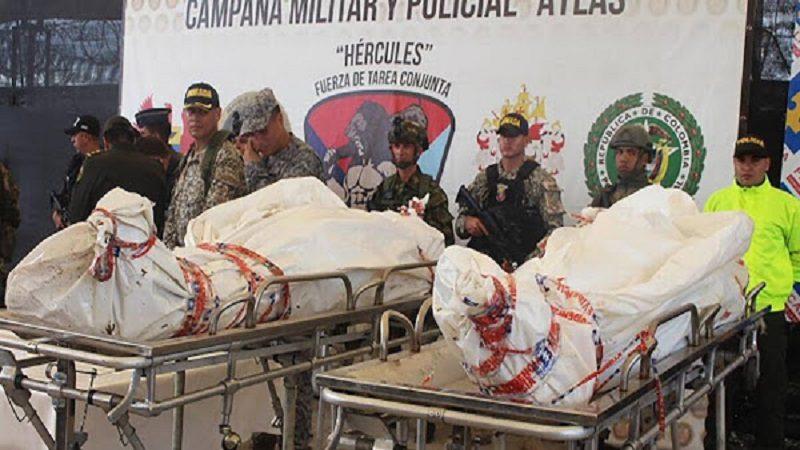 'Guacho' negociaba un cargamento de coca cuando fue abatido por la fuerza pública