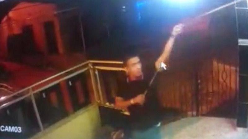 Ladrón madrugó a robar luces de navidad en Ciudadela Metropolitana