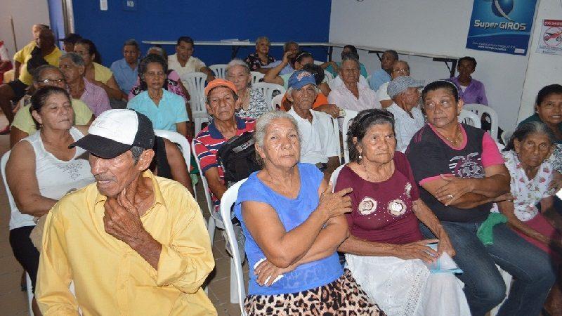 Mas de 4 mil adultos mayores reciben pago 'Colombia Mayor', en Malambo