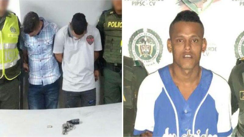 Policía captura a dos atracadores y un extorsionista, en Barranquilla y Soledad