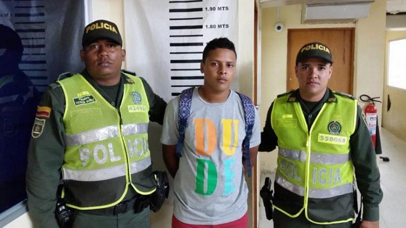 Policía captura a hombre señalado de prenderle fuego a grúa del tránsito en Soledad
