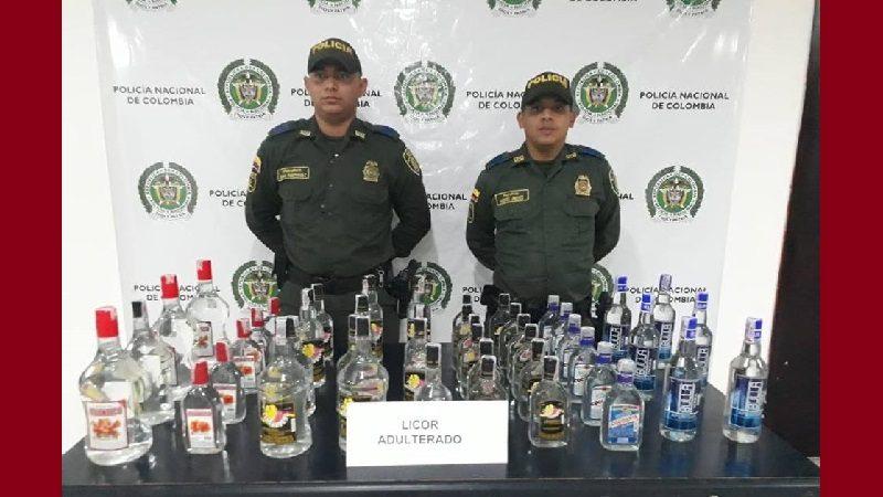 Policía ha incacutado 400 litros de licor adulterado en Atlántico, en lo que va de diciembre de 2018