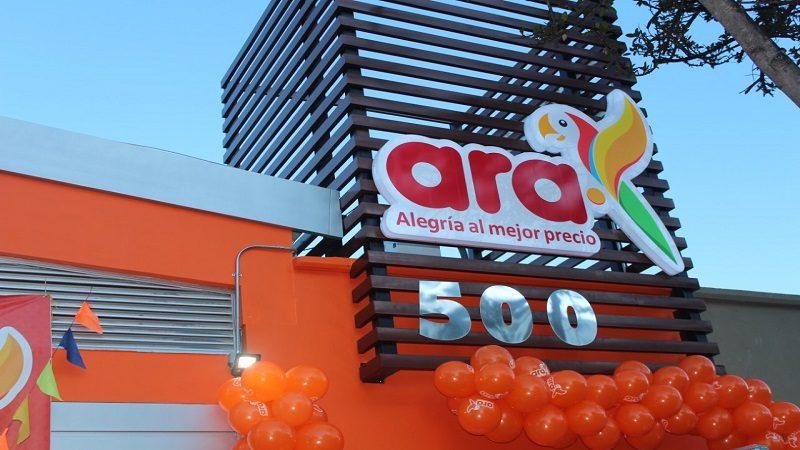 Tiendas ara inaugura su tienda número 500 y continúa con su proceso de expansión en Colombia