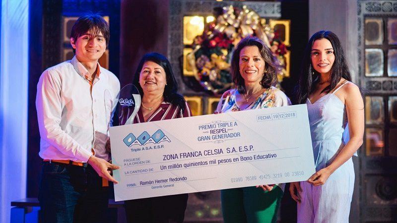 Triple A premió empresas con buenas prácticas en residuos peligrosos