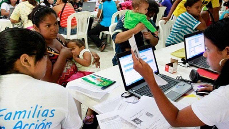 quinto pago de 'Familias en Acción' en Barranquilla