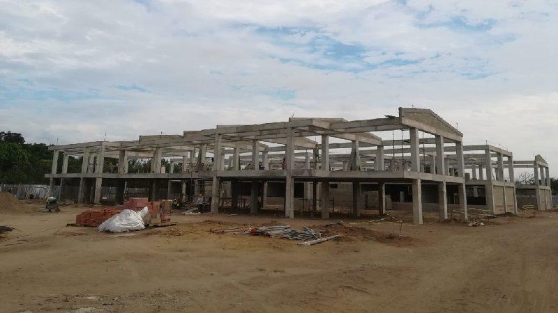 A buen ritmo avanza construcción de Megacolegio en el municipio de Malambo