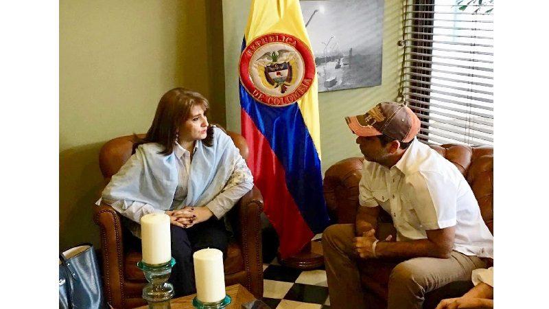 Agente Especial de Electricaribe se reunió con el alcalde Alejandro Char