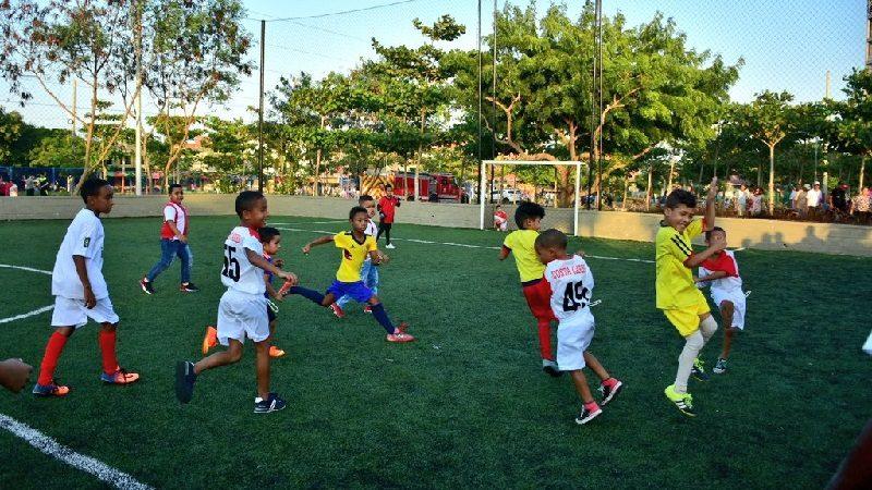 Alcalde Char reabrió la Unidad Deportiva 'Pibe' Valderrama, en la Ciudadela 20 de Julio
