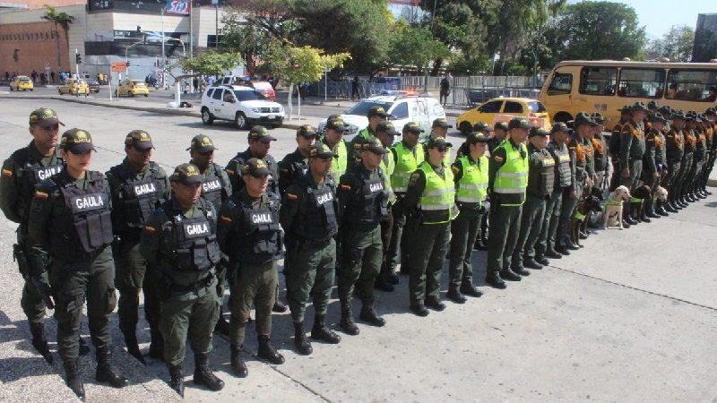 Alcalde Char y Policía asignan 1.500 uniformados para festividades del Carnaval