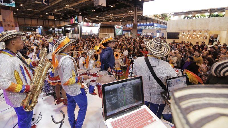 Banda de Baranoa 'tocó corazones' en Fitur Madrid 2019