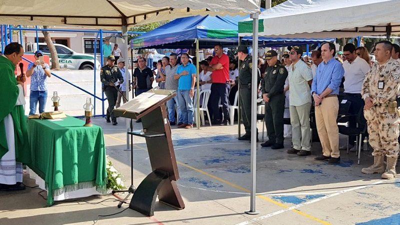 Barranquilla rinde homenaje a sus héroes a un año del atentado en la Estación de Policía San José