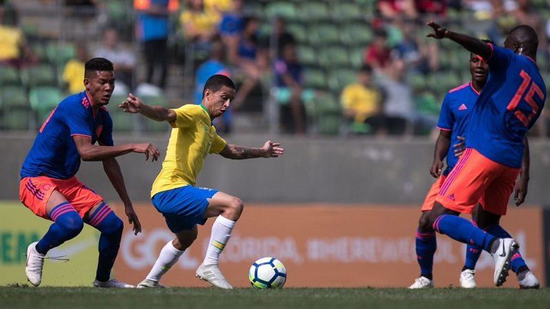Colombia empató 0-0 con Brasil en Mundial Sub-20