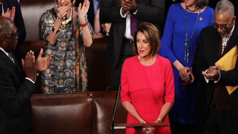 Demócratas ya lideran la Cámara de Representantes en EE. UU.