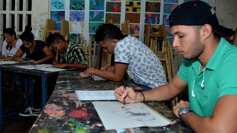 Desde el lunes 21 de enero, abren inscripciones para estudiar en la Escuela Distrital de Arte 1