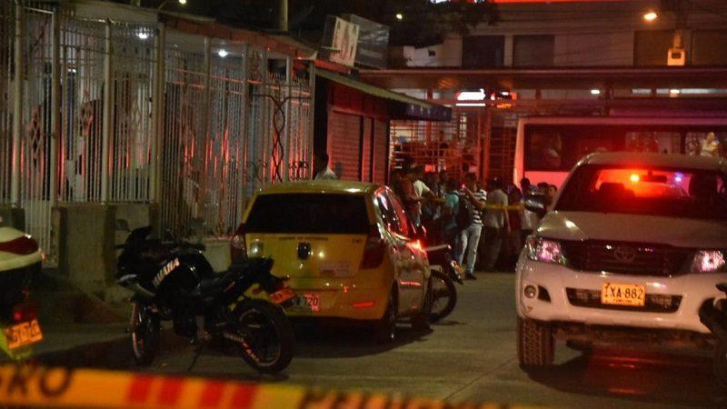 Dos muertos y tres heridos deja atentado sicarial en el barrio Bellarena