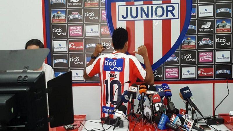 El guajiro Luis Díaz continúa en Junior y llevará la '10'