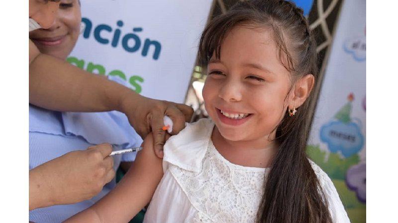 En Barranquilla, 4.810 niños le cumplieron la cita a su esquema de vacunación