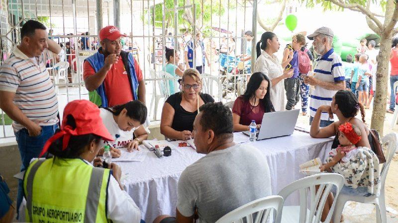 En enero de 2019 continúan las jornadas de Sisbén en los barrios de Soledad