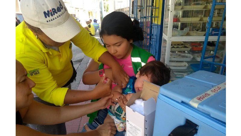 Este sábado 26 de enero, gran jornada de vacunación en Barranquilla y el resto del país