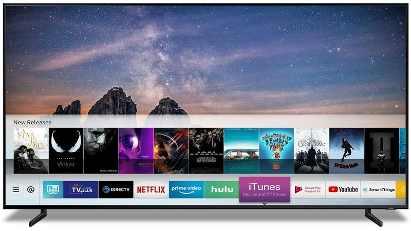 Los Smart TV 2019 incluirán iTunes Movies & TV Shows y soporte de AirPlay 2