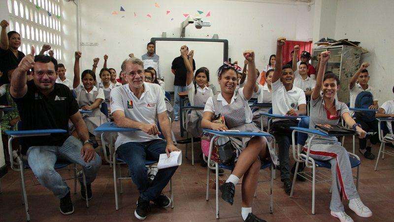 Ministerio de Educación dio apertura al calendario escolar desde el Atlántico