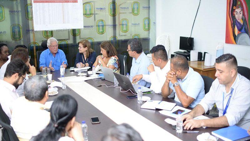 Mintransporte y Tránsito de Soledad realizan mesa técnica sobre motocarrismo