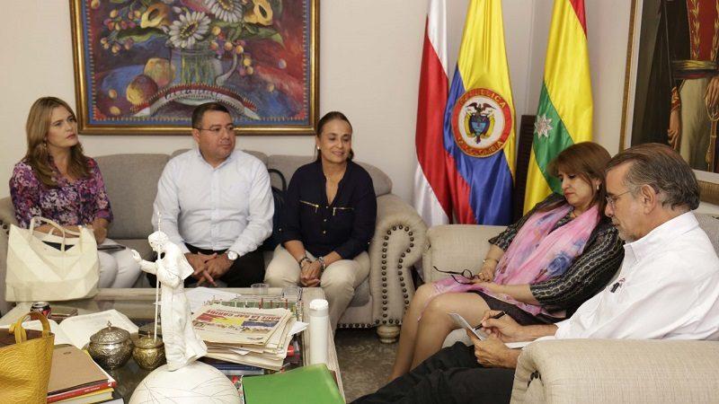 Nuevo Gerente de Electricaribe en el Atlántico se reunió con el Gobernador Verano