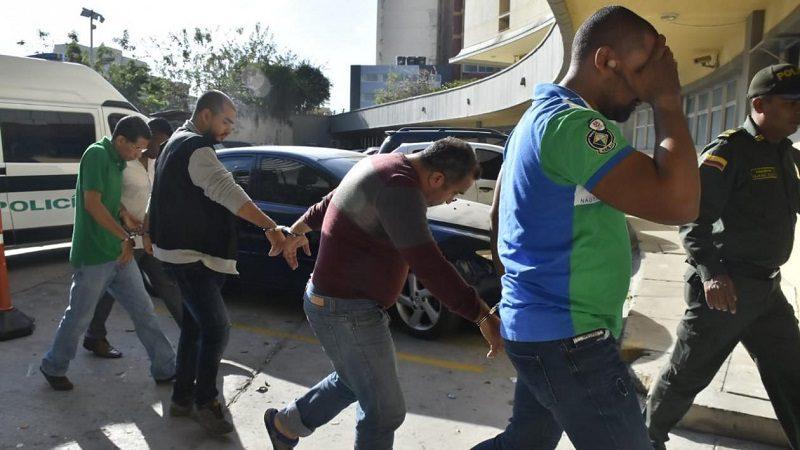 Policía captura a cinco personas por secuestro de 'Fito' Acosta